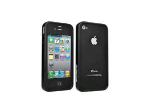 Scosche AIP4BANDBLK Bumper Band for Apple iPhone 4/4S (Black) (Bulk Packaging)