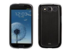 Case-Mate Barely There Brushed Aluminum Case for Samsung Galaxy S III (Black)