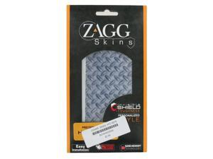 Zagg invisibleSHIELD Personalized Metalic Screen Protector for HTC Desire 6275 (Blue)
