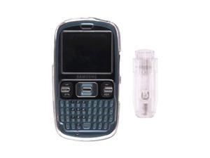Wireless Solutions Snap-On Case with Ratcheting Belt Clip for Samsung SCH-R350 - Clear