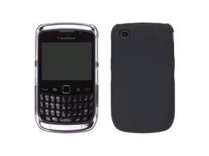 Two piece Hybrid Case for BlackBerry 9300, 9330 Curve 3G (Clear/Black)