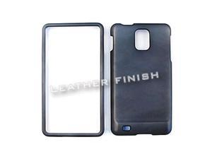 Cell Armor Snap-On Case for Samsung I997 Infuse 4G - Honey Metalic Gray,Leather Finish