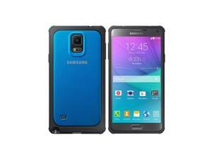 SAMSUNG Blue Plain Galaxy Note 4 Protective Cover EF-PN910BLESTA