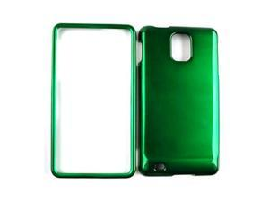 Cell Armor Snap-On Protector Case for Samsung Infuse I997 - Honey Dark Green
