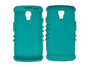 Cell Armor - Rocker Series Skin Protector Case for LG LS740 / Volt / F90 - Blueish Green