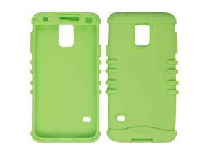 Cell Armor - Rocker Series Skin Protector Case for Samsung Galaxy S5 / G900A / G900V / G900P - Light Green