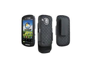Samsung Continuum i400 Galaxy S Shell Holster Combo - Black (Bulk Packaging)