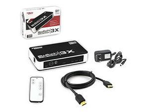 KMD - Universal 3 in 1 Switch with Remote for HDMI