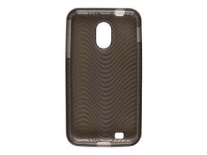 Wireless Solutions Waves Dura-Gel TPU Skin Case for Samsung Galaxy S2 EPIC Touch D710 - Smoke