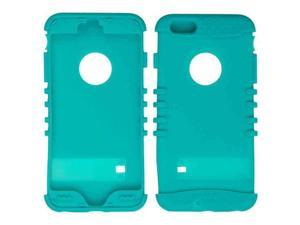 Cell Armor - Rocker Series Skin Protector Case for Apple iPhone 6 Plus - Blueish Green