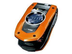 PCD Casio C711 GzOne Boulder Replica Dummy Phone / Toy Phone (Orange) (Bulk Packaging)