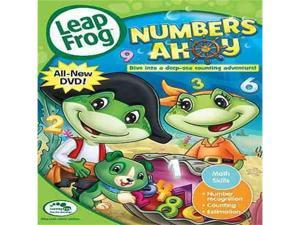 Leap Frog - Numbers Ahoy DVD New