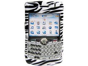 Amzer Zebra Print Snap On Crystal Hard Case For BlackBerry 8320,BlackBerry 8330