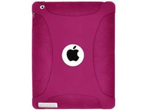 Amzer Silicone Skin Jelly Case - Hot Pink For The new iPad