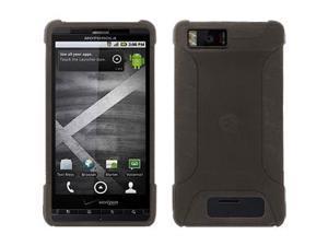 Amzer Silicone Skin Jelly Case - Grey For Motorola Milestone X,Motorola Droid X2 MB870