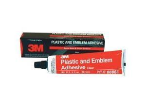 Adhesive Plastic And Emblem Clear 5Oz Tube