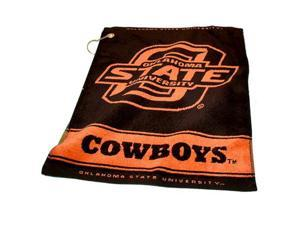 Oklahoma State Cowboys Ncaa Woven Golf Towel