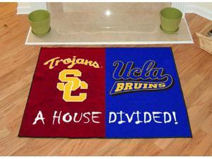 """Usc - Ucla House Divided Rugs 34""""X45"""""""