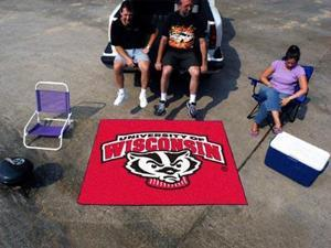 """Wisconsin Tailgater Rug 60""""72"""""""