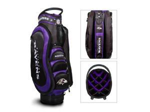 Baltimore Ravens Nfl Cart Bag - 14 Way Medalist""