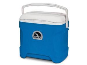 Igloo Contour 30 Quart Cooler, Ocean Blue