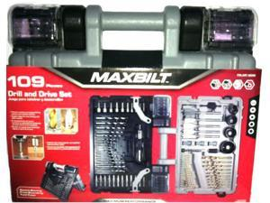 Maxbilt Drill and Drive Set 109 Pieces