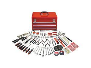 297pc Mechanical Tool Kit in 3 Drawer Steel Box