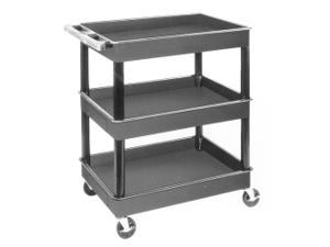 3 Shelf Plastic Service Cart