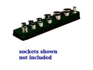 3/8 in. Drive Magnetic Black Socket Holder   5.5-22mm