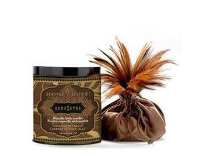 Kama Sutra Honey Dust Body Powder - Chocolate Caress 8 oz