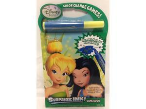 Disney Fairies Tinkerbell Surprize Ink Game Book Case Pack 6