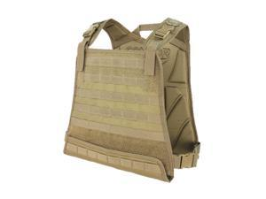 Compact Plate Carrier Color- Tan