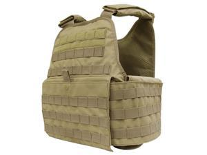 Operator Plate Carrier Color- Tan