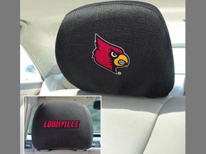 "Fanmats University of Louisville Cardinals Head Rest Cover 10""x13"""