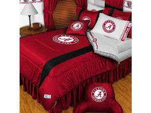 NCAA Alabama Crimson Tide Comforter Pillowcase College Bed