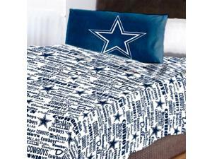 NFL Dallas Cowboys Sheet Set Anthem Bed Sheets