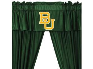 Baylor Bears Drape Valance Set College Team Logo Window Treatment
