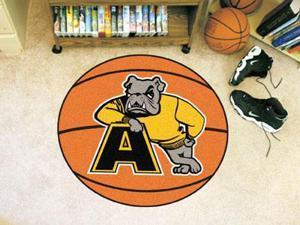 """Fanmats Adrian College Bulldogs Basketball Mat 27"""" diameter"""