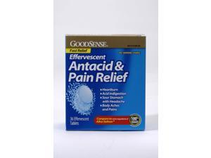 Good Sense Effervescent Antacid & Pain Relief 36 Ct Case Pack 24