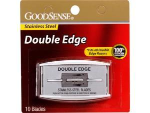 Good Sense Stainless Steel Double Edge Blades Case Pack 144