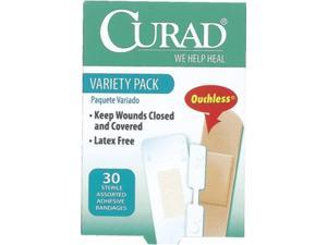 Curad Variety Pack Bandages 3 Case Pack 6