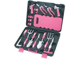 18 Piece Garden Tool Set Pink