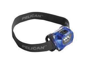 PELICAN 027400-0101-110 66-Lumen 2740 LED Adjustable Headlight (Black)