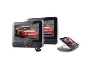 "7"""" Dual Screen Portable DVD Player"
