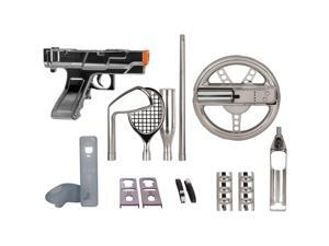 Wii 15-in-1 Players Kit - Silver