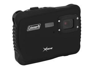 COLEMAN C6WP-BK 12.0 Megapixel MiniXtreme HD Video Waterproof Digital Camera Kit (Black)
