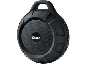 ISOUND ISOUND-6704 DuraTunes Water-Resistant Bluetooth(R) Speaker (Black)