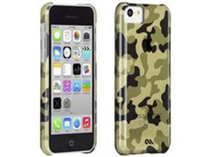 New Case-Mate Barely There Case for Apple iPhone 5c Urban Camo Green