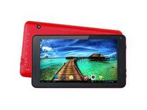 "7"""" Quad Core Tablet Red"