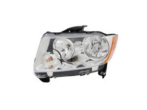 Headlight Assembly, Left&#59; 11-14 Jeep Compass MK